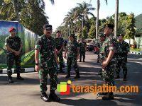 Kunjungi Malang, Panglima TNI Sambangi Yonarmed 1/Ajusta