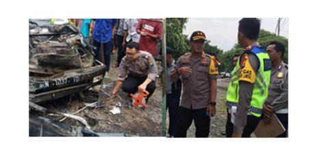 Panther Hantam Fuso di Pajarakan Probolinggo, 6 Warga Lumajang Tewas