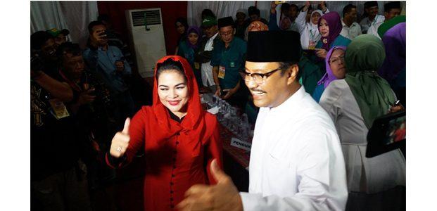 Pasangan Saifullah Yusuf-Puti Guruh Soekarno, Resmi Daftar Pilgub Jatim