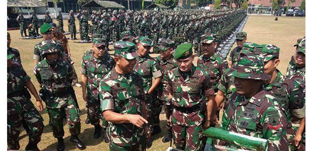Pasca Gempa di Sulteng, Kodam Brawijaya Siap Kirim Pasukan