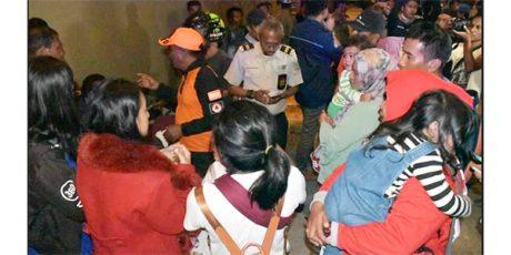 Pasca Konflik di Papua, 519 Orang Perantau Jatim Tiba di Tanjung Perak