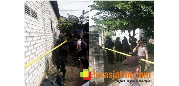 Pasca Penangkapan, Polisi Geledah Rumah Terduga Teroris di Paciran Lamongan