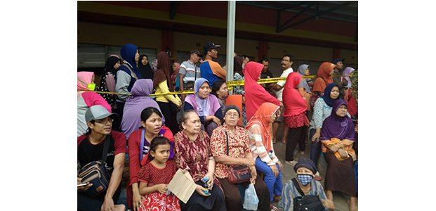 Pasca Terbakar, Pedagang Minta Pasar Darurat Tetap di Kawasan Pasar Songgolangit