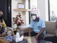 Gunakan Helm dari Rice Cooker, Pemotor di Pasuruan ini Ditegur Kapolres