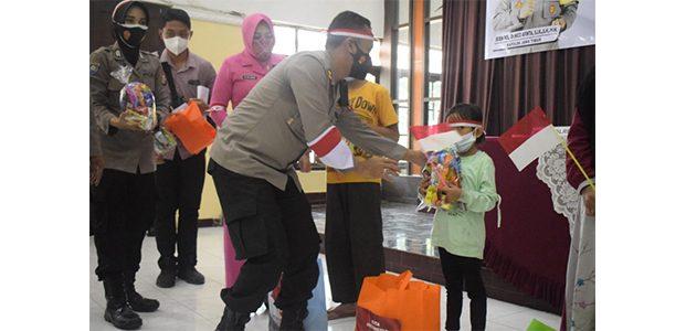 130 Anak Yatim Piatu Korban Covid-19 Jadi Anak Asuh Polres Pasuruan Kota