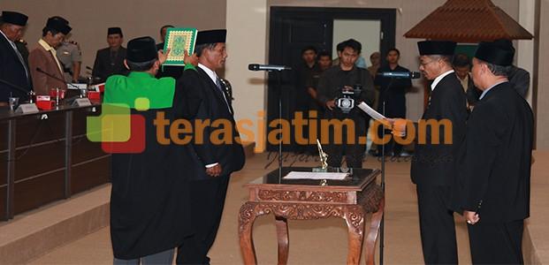 Nyalon Wakil Bupati, Edy Wijaya di PAW