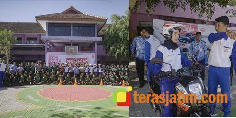 Peduli Keselamatan Berkendara, MPM Resmikan Sekolah Binaan Safety Riding yang ke 7 di Jatim