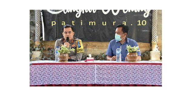 Peduli Lingkungan Hidup, Polres Trenggalek Gelar Forum Grup Diskusi