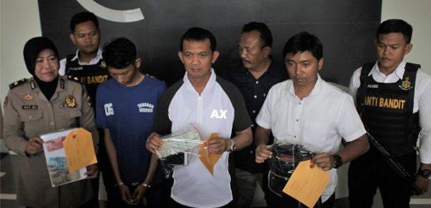 Perampok Mobil Ayla Yang Ditemukan di Peterongan Jombang, Ditangkap