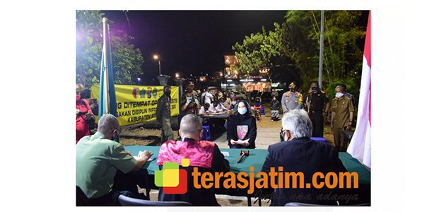 Pelanggar Prokes di Sidoarjo Disidang di Tempat