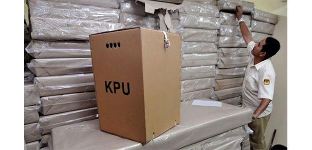 Untuk Pemilu 2019, KPU Kota Madiun Terima 3.199 Kotak Suara Baru