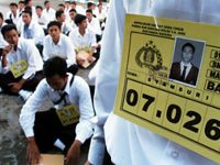 Di Malang, Peminat Jadi Polisi Menurun