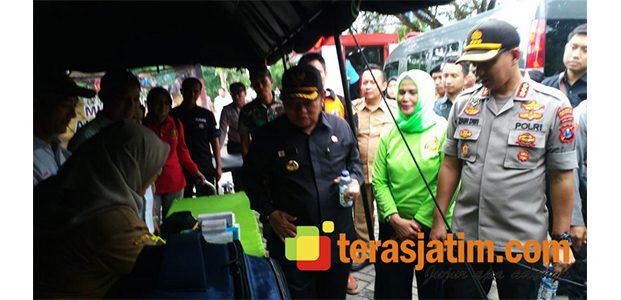 Pemkab Sidoarjo Bersama Polresta Dirikan Posko Tanggap Bencana
