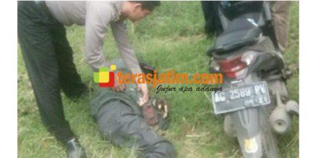 Pengendara Motor Asal Kediri, Ditemukan Tewas di Tepi Jalan Raya Bojonegoro-Nganjuk
