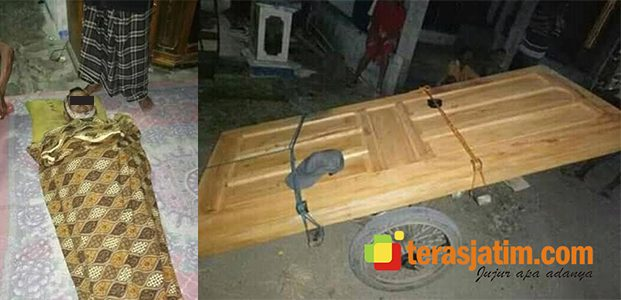 Penjual Pintu asal Boyolali Meninggal Mendadak di Bojonegoro