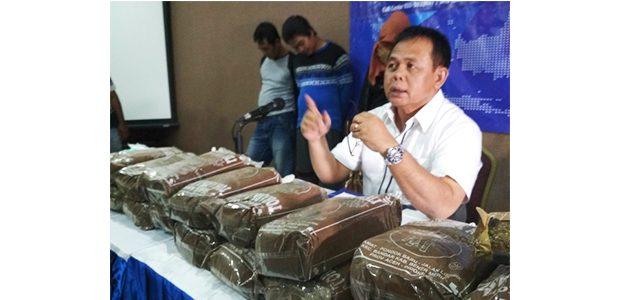 Penyelundupan 12 Kilogram Ganja asal Aceh Berhasil Digagalkan