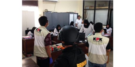 Penyidik KPK Geledah Kantor Dinas Peternakan Jawa Timur