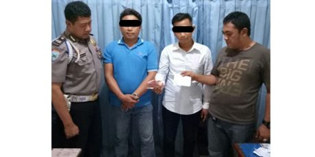 Diduga Peras Pejabat, 2 Pria Ngaku Wartawan Dicokok Polisi
