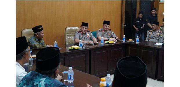 Pererat Silaturahmi, Kapolda Jatim Kunjungi PWNU Jatim