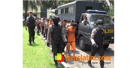 Periksa Kondisi Sel Tahanan, 31 Tahanan Polres Blitar Dititipkan Sementara ke Lapas