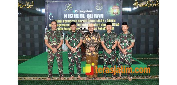 Peringati Nuzulul Qur'an, Pangdam Brawijaya Minta Prajurit Tingkatkan Keimanan dan Ketakwaan