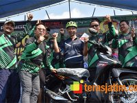 Rayakan Ultah ke-5 Komunitas Fun Bike di Mojokerto, Danrem CPYJ Sediakan Hadiah Motor