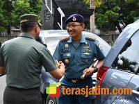 Perkuat Sinergitas, Danlanal Malang Sambangi Makorem Baladhika Jaya