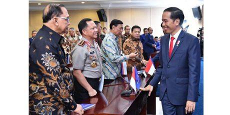 Presiden: Yang Tak Setuju Perppu Ormas Silakan Tempuh Jalur Hukum