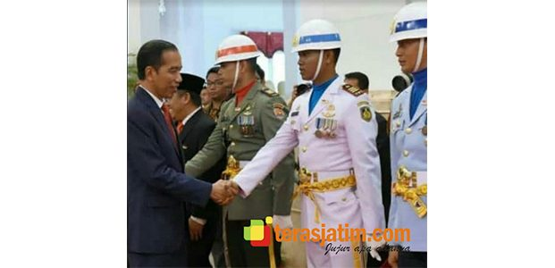 Perwira Raider 500/Sikatan, Jadi Danki Paskibaraka Upacara HUT RI di Istana Negara