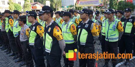 Pilgub Jatim, 450 Personil Polres Situbondo Bergeser ke TPS