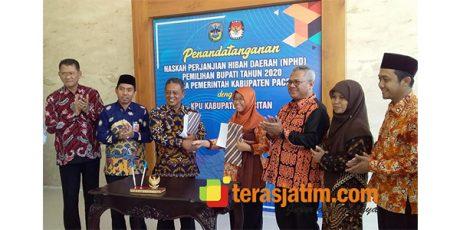 Pilkada Serentak 2020 di Jatim, Kabupaten Pacitan Paling Awal Tandatangani NPHD