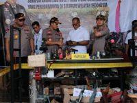 Polda Jatim Gerebek Pabrik Senjata Api Ilegal di Lumajang