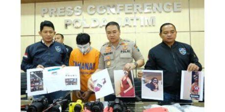 Polda Jatim Tangkap Fotograper Porno Asal Singosari Malang