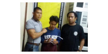 Polisi Bekuk Pemuda Yang Asyik Nyabu di Tol