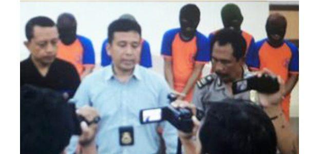 Polisi Gulung Komplotan Begal Sadis di Jombang