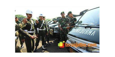 Polisi Militer Gelar Razia Kendaraan Dinas Armed 12 Kostrad