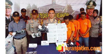 Polisi Surabaya Bongkar Sindikat Pengiriman Motor Ilegal ke Bima NTB