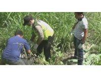 Polisi Temukan Potongan Kepala Korban Mutilasi di Kediri
