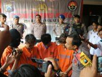 Polres Bangkalan Bekuk 4 Pelajar Pelaku Curas