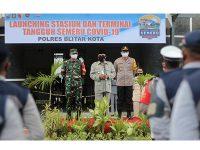 Polres Blitar Kota Launching Stasiun Tangguh dan Terminal Tangguh