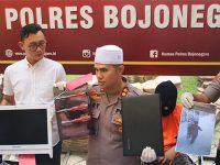 Polres Bojonegoro Bekuk Maling Spesialis Rumah Sakit Antar Kota