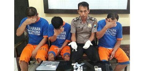 Polres Kediri Bongkar Jaringan Pengedar Narkoba Jenis Pil Dobel L Antar Kabupaten