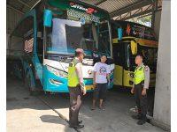 Polres Lumajang Larang PO Bus Layani Pesanan Untuk Aksi Massa ke Jakarta