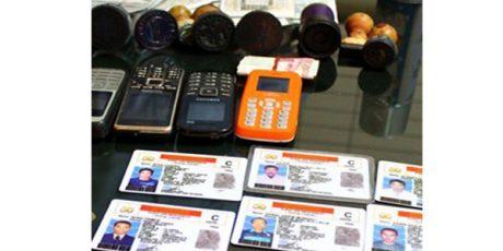 Polres Madiun Bongkar Praktek Pembuatan dan Penjualan SIM Palsu