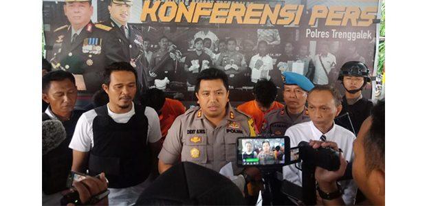 Polres Trenggalek Bekuk Komplotan Pembobol ATM Lintas Kota