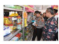 Polres Trenggalek Bersama Dinas Terkait Pantau Stok Masker di Pasaran