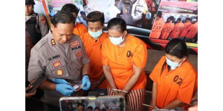 Polres Tulungagung Bekuk Komplotan Pencuri Emas Antar Kota