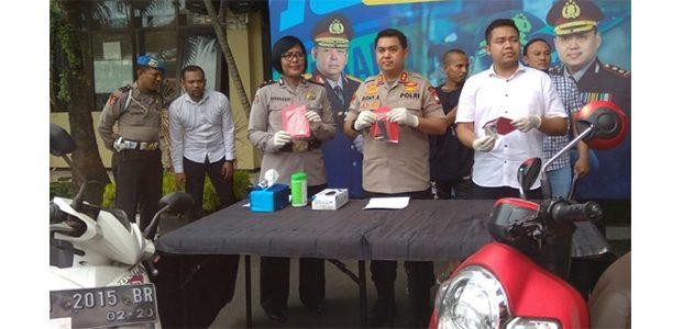 Polresta Malang Lumpuhkan Maling Motor asal Pasuruan