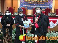 Di Hari Jadi Kabupaten Ponorogo ke-525, DPRD Ponorogo Launching Buku Sejarah