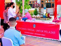 Kunjungi Ponorogo, Presiden Pantau Pelaksanaan Vaksinasi Bagi Pelajar dan Santri